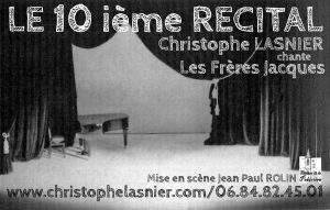 affiche 10 ieme recital